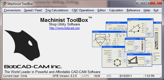 machinist feeds and speeds software