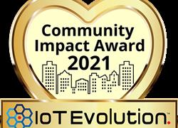 MultiTech Receives 2021 IoT Evolution Community Impact Award